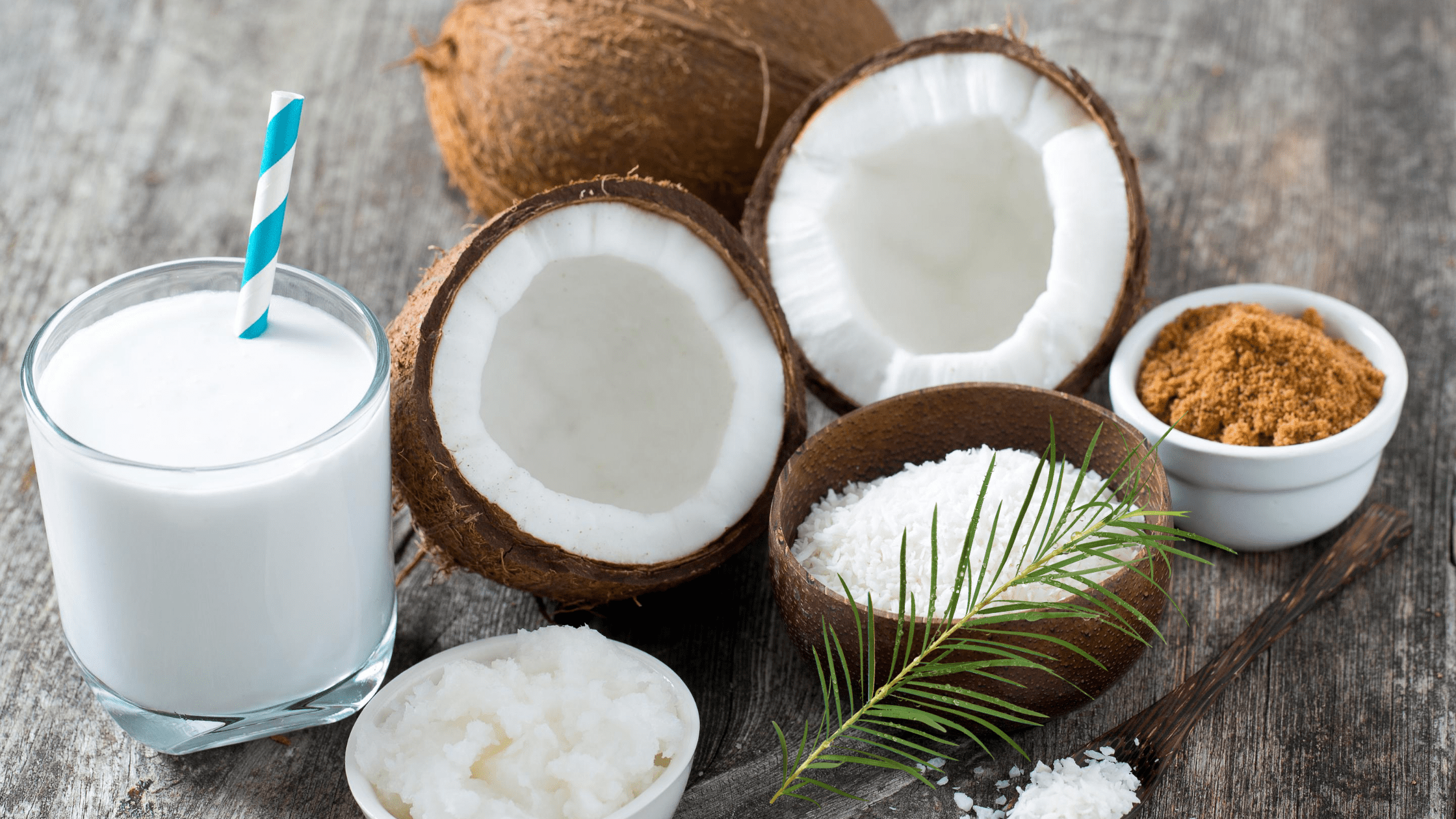 Suger And Coconut Milk